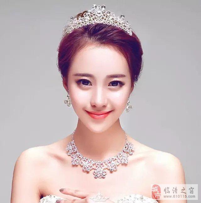 精美绝伦的皇冠新娘造型