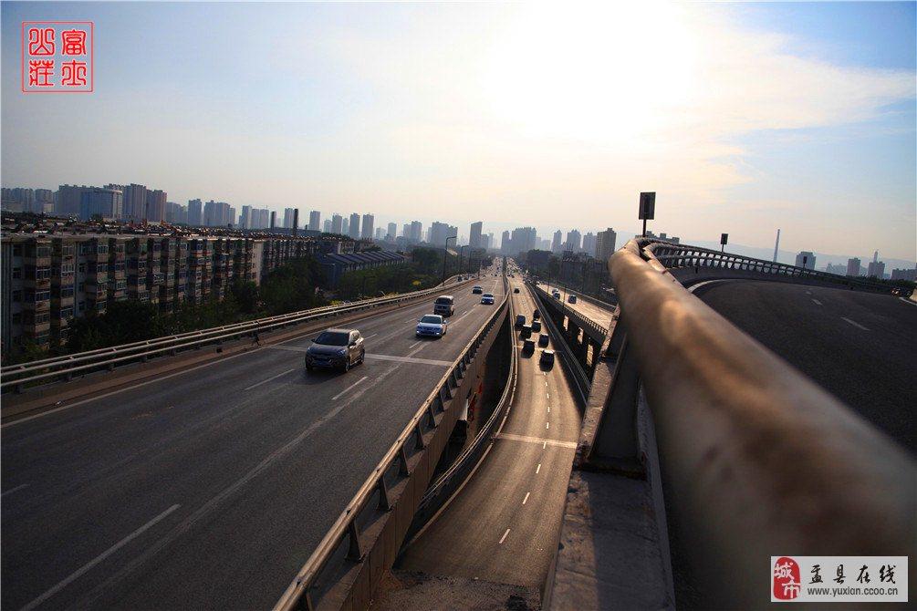 太原北中环涧河路立交桥