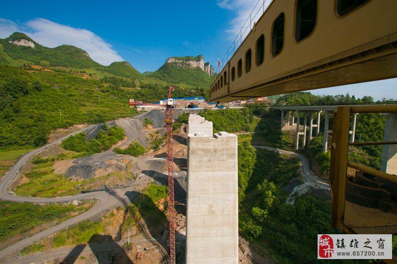 贵州大方成贵铁路16座桥梁的下部工程