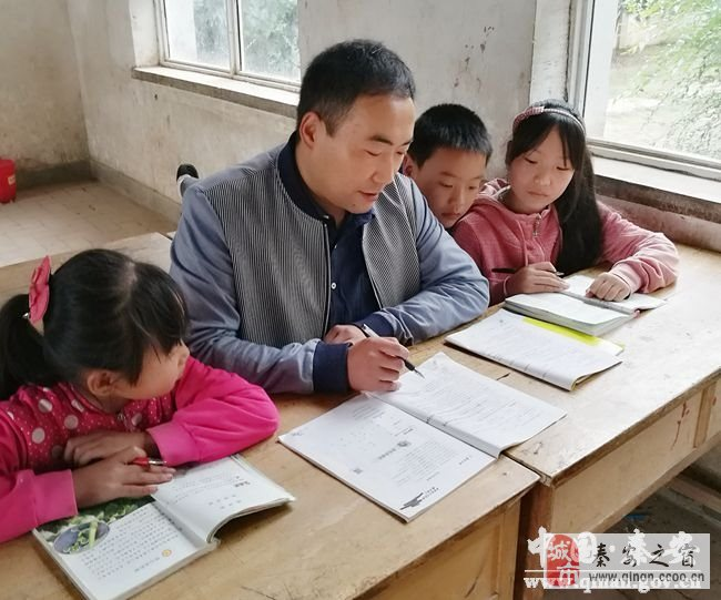 10年坚守-记秦安县小学毕业会考先进教师宋彦明