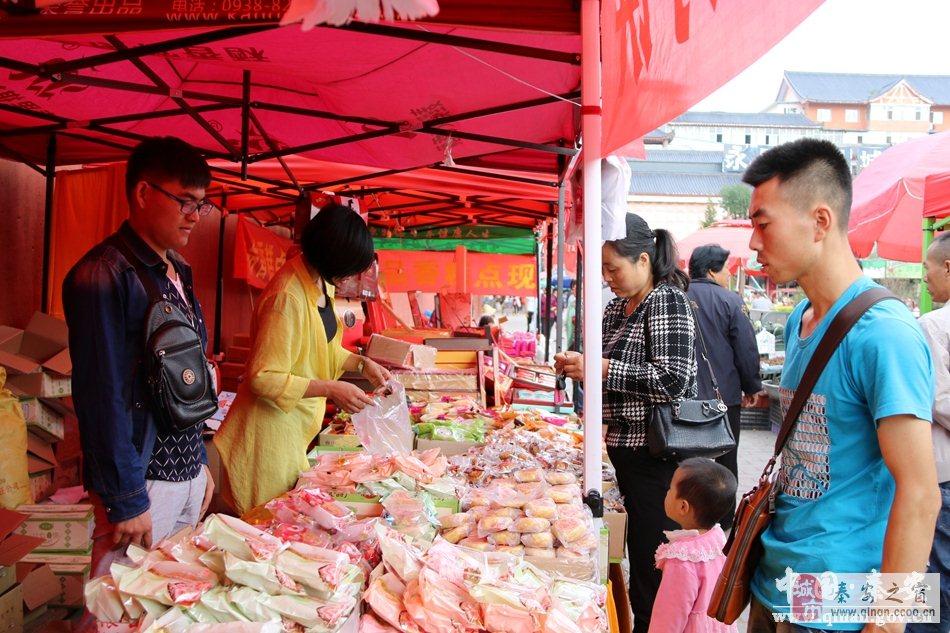 秦安县中秋佳节月饼市场销售旺