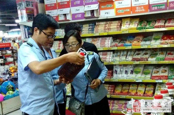 秦安食药监部门积极开展节前食品市场安全检查