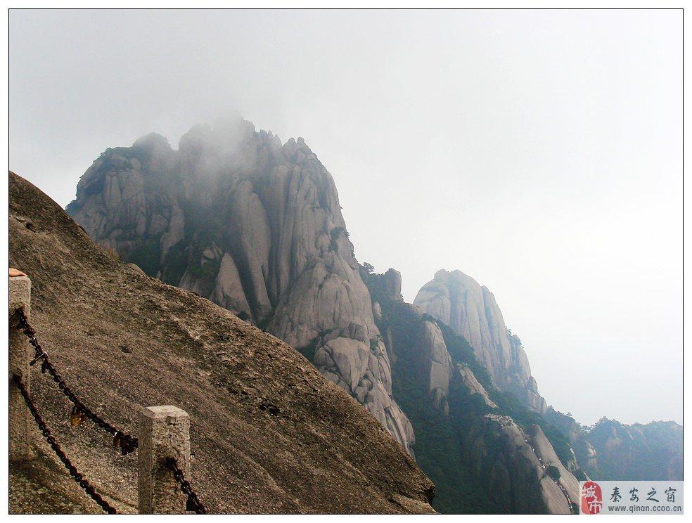 旅游随拍黄山的奇石,奇松~!