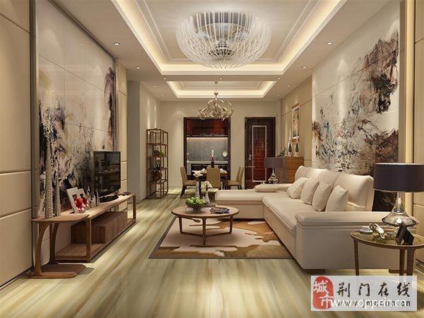 客厅白墙装修效果图 墙面上的艺术