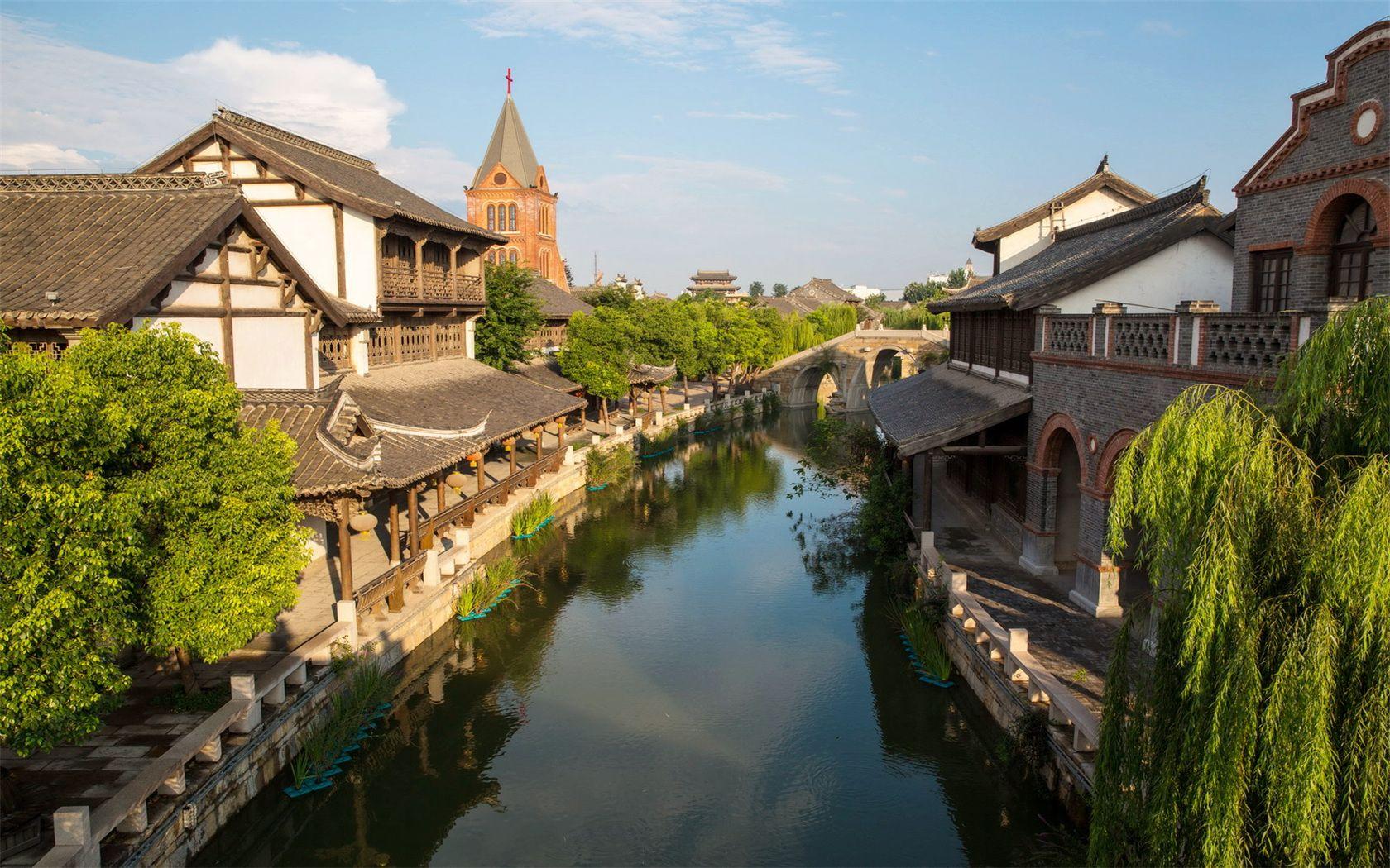 风景 古镇 建筑 旅游 摄影 1680_1050