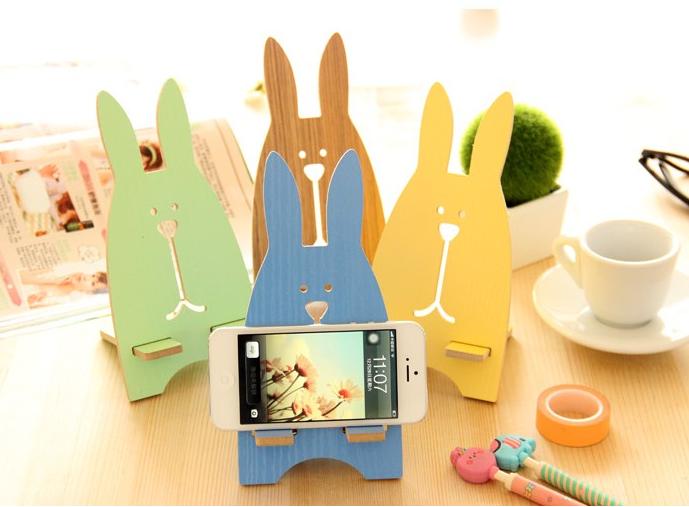 可爱漂亮的越狱兔手机支架