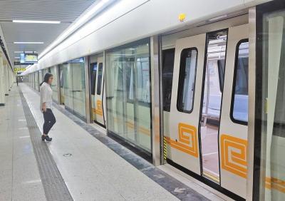 郑州地铁2号线有望8月中下旬进入试运营