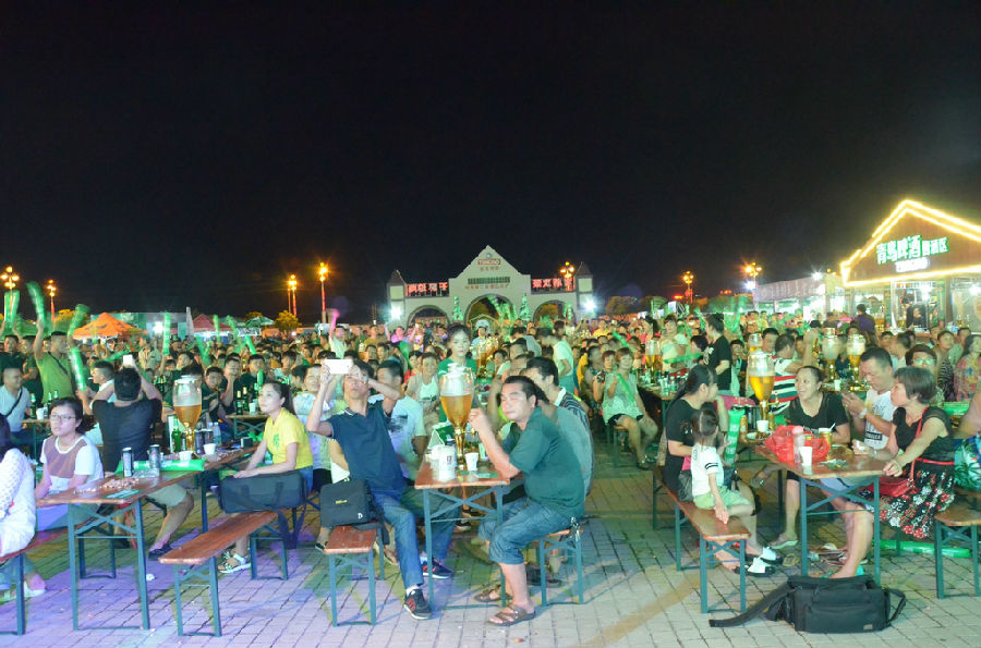 琼海第二届青岛啤酒节火热开启 9天夜夜激情狂欢嗨到你心碎!