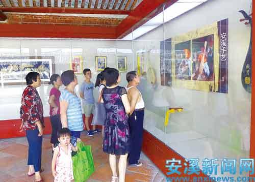 """县博物馆主办的""""安溪手艺""""专题展在安溪文庙展出"""