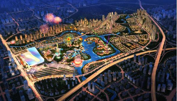 万达速度 造就重庆万达文化旅游城的光辉
