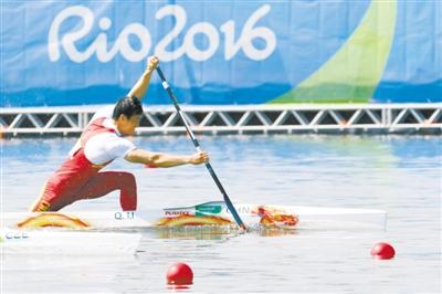 男子皮划艇静水奥运单人划艇200米珠海李强v男子运动员深蹲多重图片