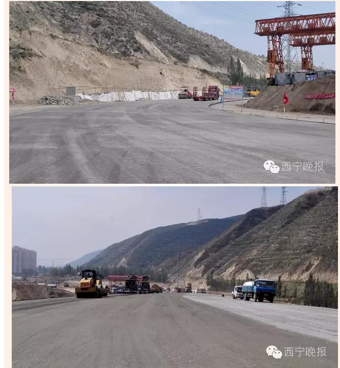 再过6天,西宁南川西路可以直通南绕城高速,西宁还有两条新公路要图片