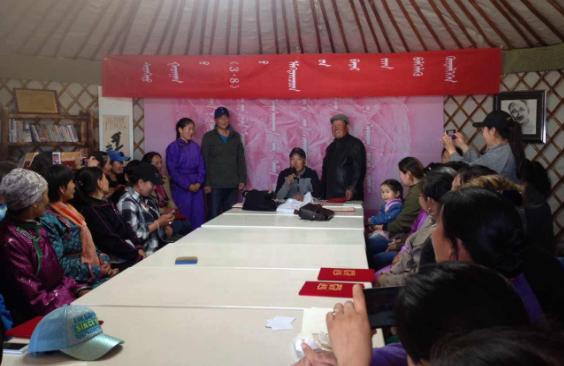 扎格斯台苏木为创建中华诗词之乡努力开展相关