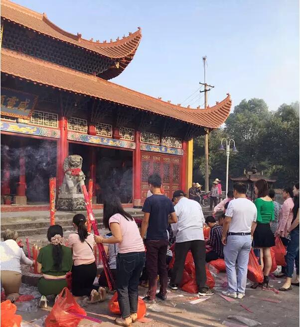 呼声 旅游 南城焦点  祥岗山(又称万寿宫)旅游景区位于南城县株良镇