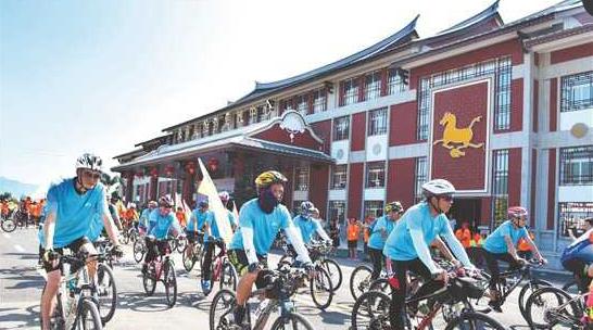 借力环湾国际公路自行车赛 永春打造骑行旅游乐园