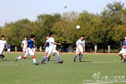 亳州市以校园活动青少年联赛高中附属_涡阳热北京大学足球助推图片
