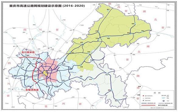 合安高速 合璧津高速力争明年开工 川渝将增通道