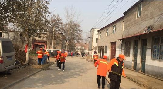 中牟县广惠街街道办事处开展环境卫生集中整治