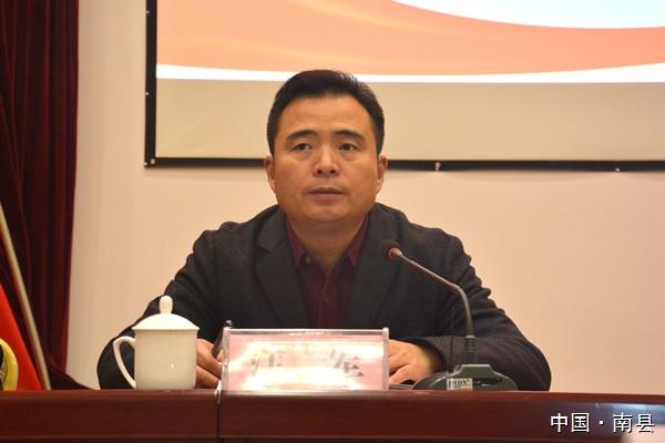 南县举行党的十八届六中全会精神宣讲报告会