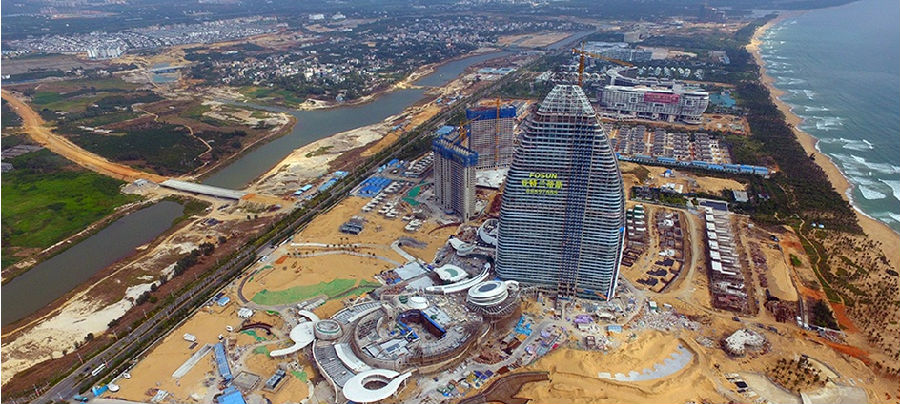 瞰海南|三亚亚特兰蒂斯项目显雏形 年底将开业