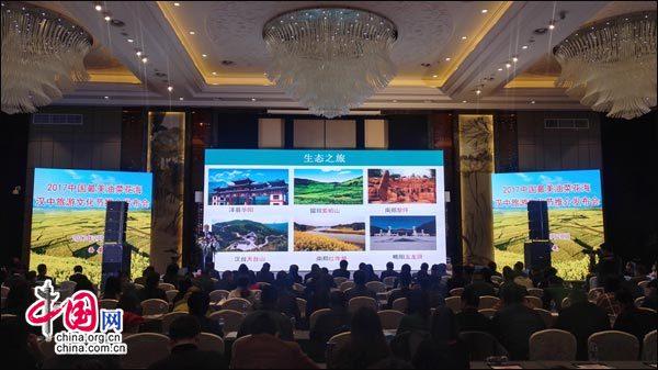 迎接浪漫季节 陕西汉中万亩油菜花海绽放美丽