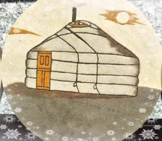 今后蒙古族幼儿园将巧妙运用沙画作品布置校园环境,展现地方特色.