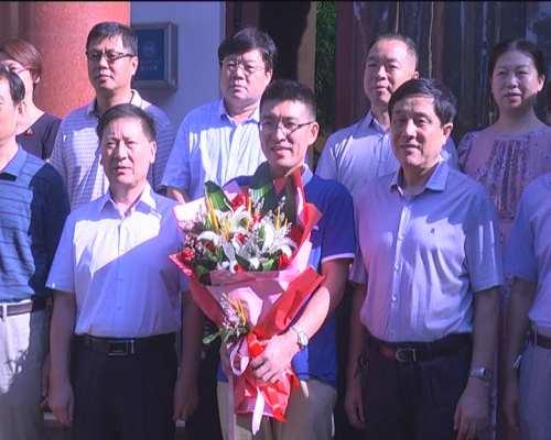 青州市2017年唯一一位赴藏医疗专家郑雪松启程