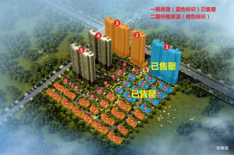龙台别墅10公园住宅工程别墅月份进度垂直图片