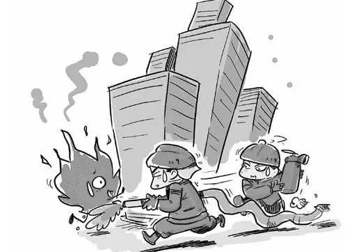 消防防火灾安全知识宣传教育海报灭火器使用方