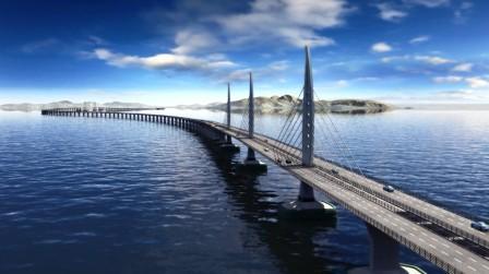 网络配图:珠港澳大桥-科普琼海丨2017年,我国科技创新十大里程碑