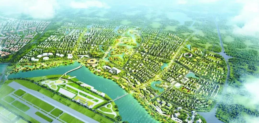 淮州新城通航产业园图片