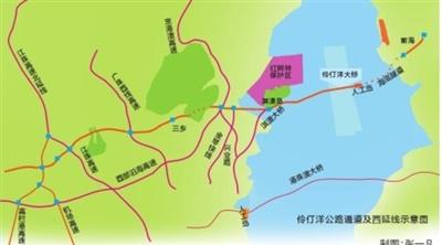 《伶仃洋公路通道及西延�(珠海段)交通�����》公示 �M建跨海公�F�捎�蜻B通深珠