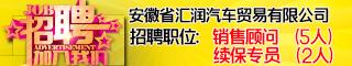 安徽省汇润汽车贸易有限公司