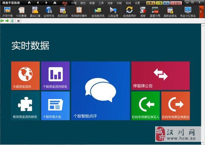 操盘软件富赢版V7(含自动化交易系统)