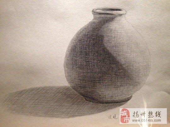 素描瓶罐结构图单个