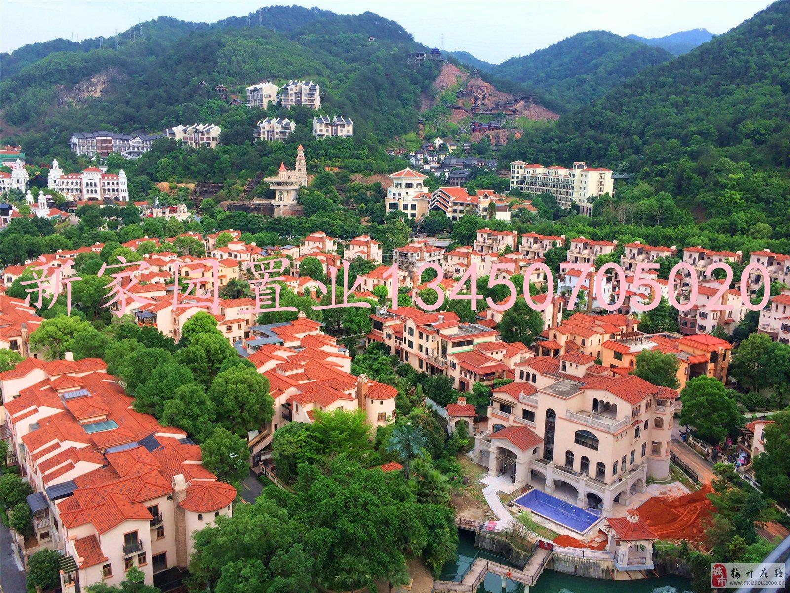 458萬售江南客天下別墅3層半500平方前后有花園