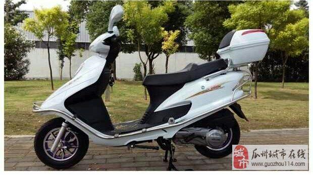 雅马哈白色踏板摩托车低价出售
