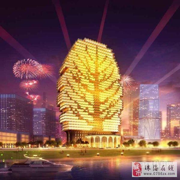 施工单位龙信建设集团有限公司 【外形为梧桐树造型的标志性建筑】