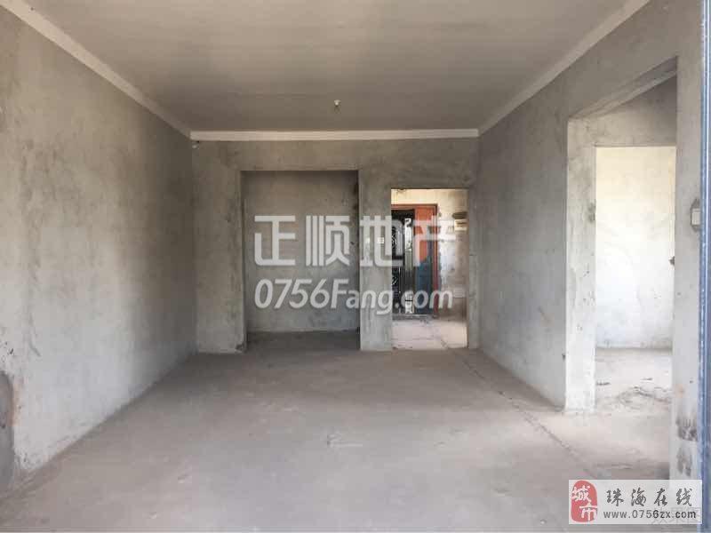 斗门-湖星水岸华庭二期毛坯2房116万性价比高
