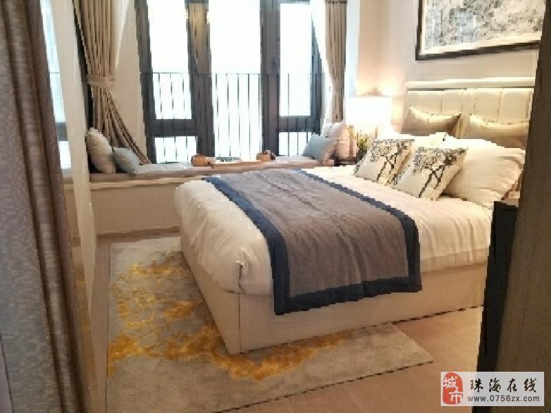 珠海新城区-龙光九龙湖精装3房-首付23万-外地人可买
