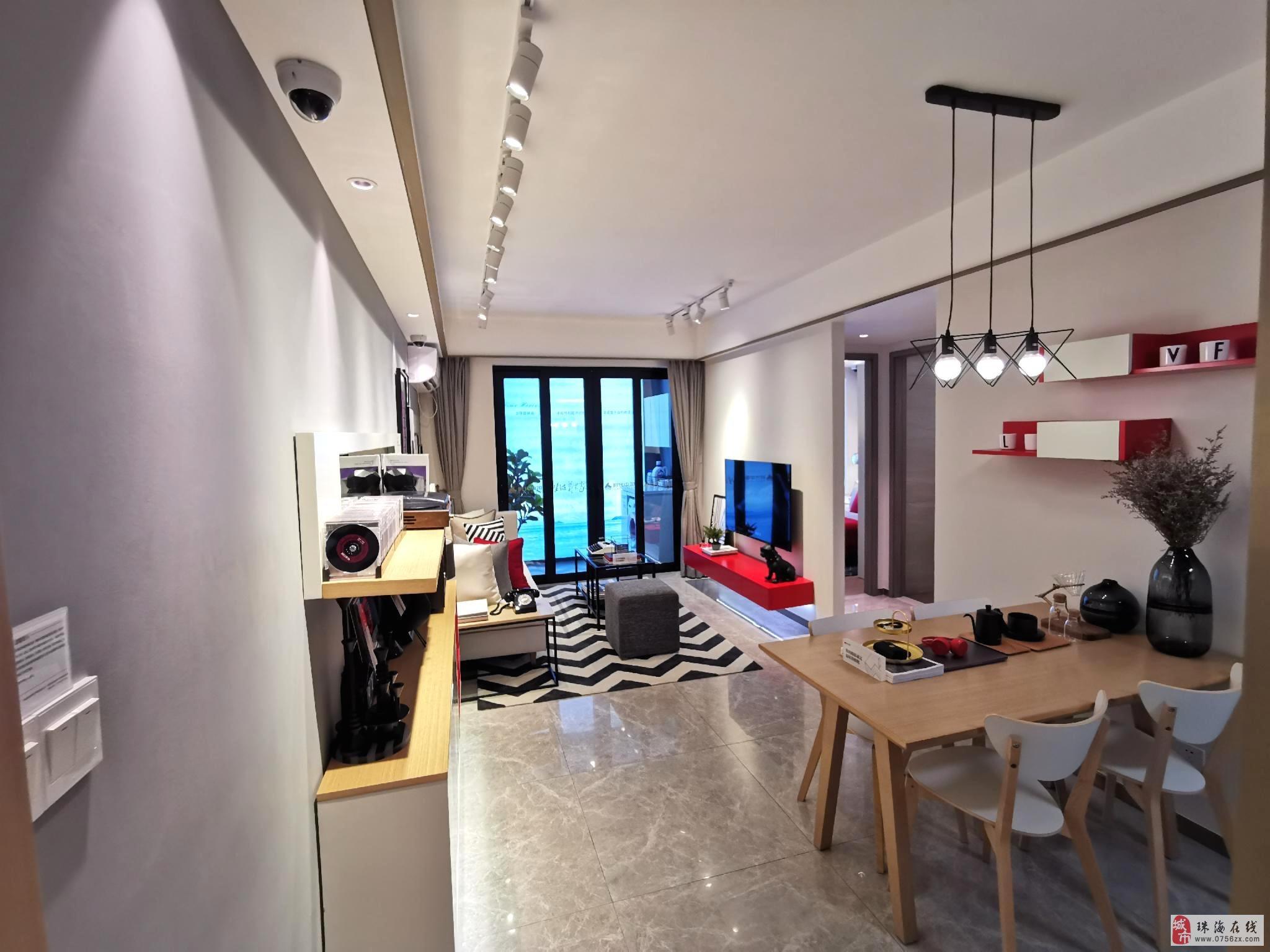 外地客户可购黄杨河畔时代天韵南向精装两房首付可分期五年