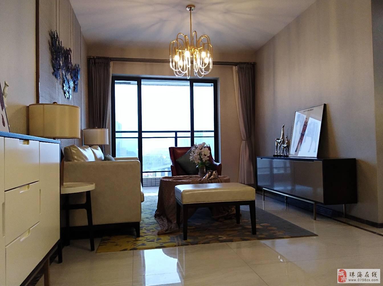 香洲前山玲珑府二房二厅南向精装售195万一手团购