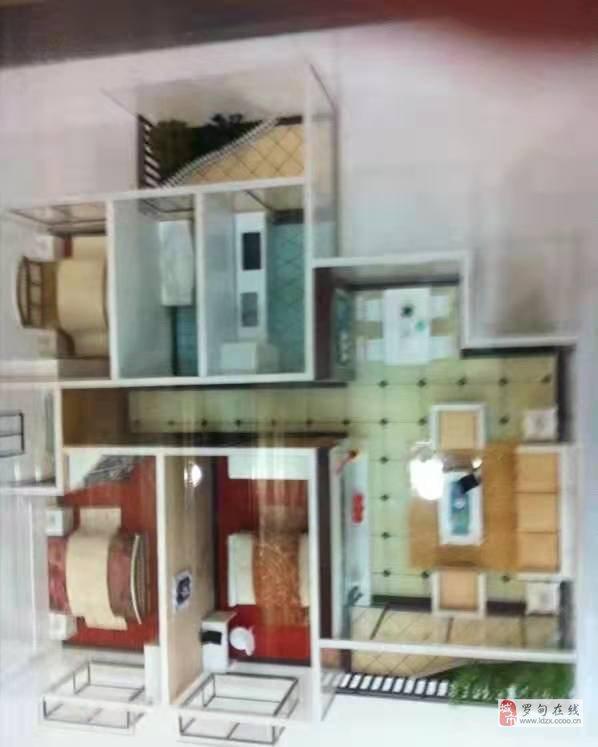 罗甸县新旺角小区3室2厅2卫49万元
