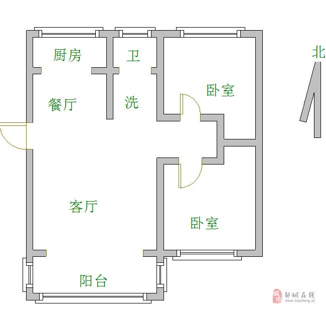急售!!燕京花园次顶层南北通透,满五唯一送储藏室。