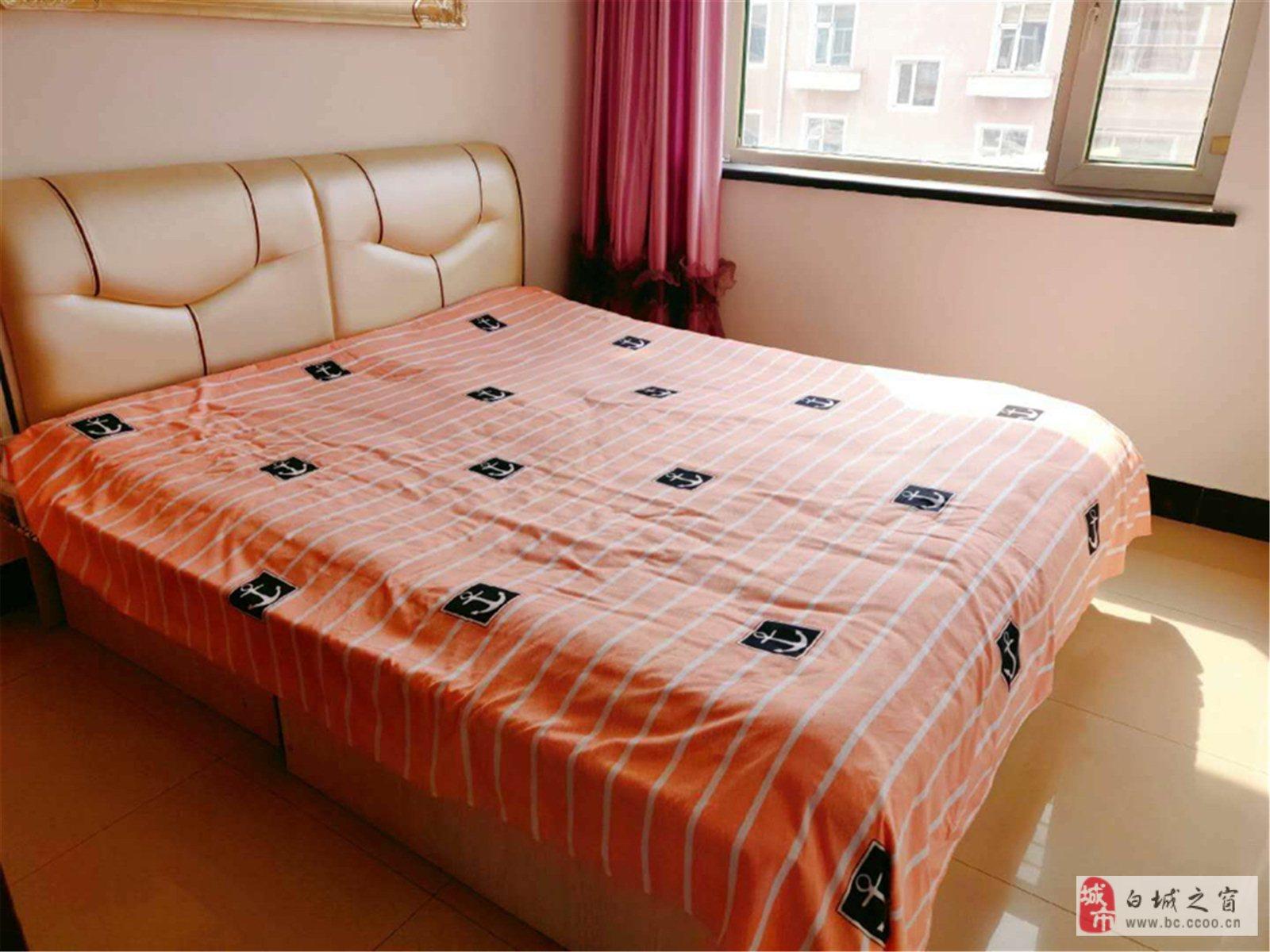 陽光家園B區4樓精裝地2室1廳首付7.5萬元