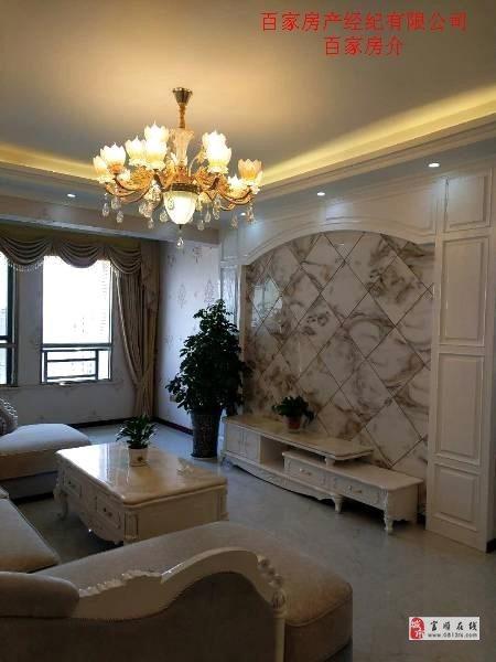 出售高端园林小区西城国际3室2卫全新豪华装修没住过