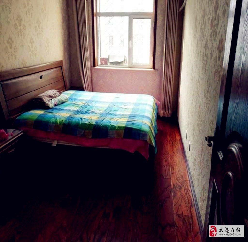 晨晖北里3楼124平米精装三室南北通厅拎包入住