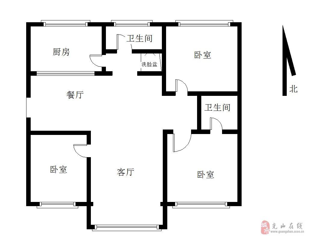 弦丰家园3室2厅2卫78万元