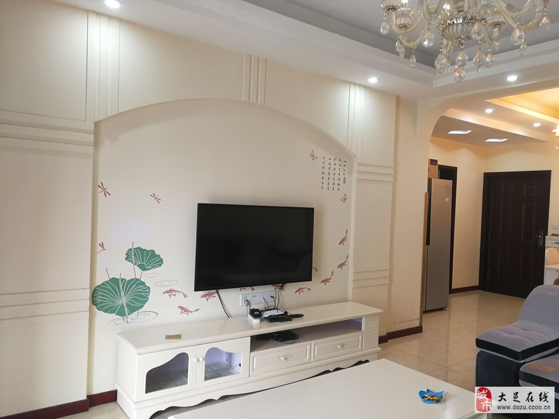 全屋中央空調,海棠香國精裝三房56.8萬,拎包入住