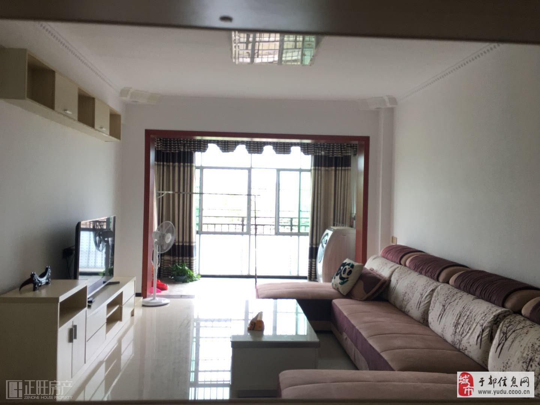 領秀江南園林小區,中層精裝2居室,配送品牌家具,